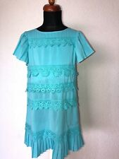 ❤️ MISS BLUMARINE ❤️ Zuckersüßes Kleid türkis ❤️ Gr. 8 128  ❤️