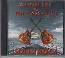 ALVIN LEE & TEN YEARS AFTER Solid Rock 1997 CD EMI ITALY CHRYSALIS BLUES ROCK