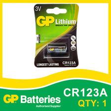 BATTERIA al litio CR123A GP SCHEDA DI 1 [macchine fotografiche, attrezzature mediche + altri]