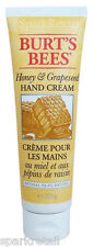 Burt's Bees Organic HONEY & GRAPESEED Hand Cream 73.5g Burts Hands Moisturiser