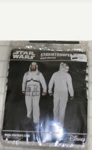 New Disney Star Wars StormTrooper Adult Size S/M Union Suit Sleepsuit Pajamas