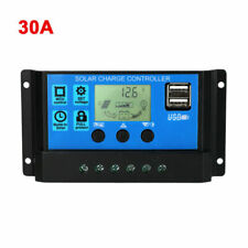 30A MPPT Solar Panel Regulator Charge Controller Auto Focus Tracking 12V/24V