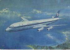 Postcard 1305 - Aircraft/Aviation KLM Douglas DC-8 Intercontinental Jet