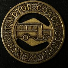 Elkhart Indiana Motor Coach - Good For One Fare Transportation Transit Token