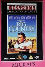 THE BIG COUNTRY - WESTERNS THE CLASSIC COLLECTION WTCCN02B DVD PAL GREGORY PECK