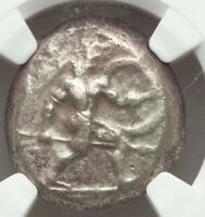 Ca. mid-5th century BC Ancient Greece Pamphylia Aspendus AR stater NGC Ch F
