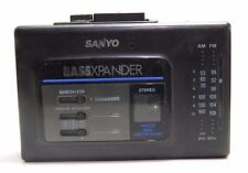 SANYO Personal Cassette Players
