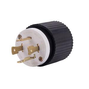 NEMA L14-30P Male Plug 30A 125/250V Generator Plug L1430 1430P L1430P 1430