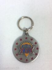 Super Bowl 24 XXIX 1994 Joe Robbie Stadium keychain fob slide ring holder AN8
