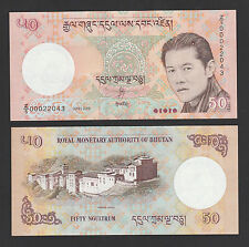 "Bhutan 50 Ngultrum (2008) P 31 REPLACEMENT "" Z/5 "" banknote - UNC"