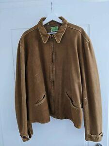 Levis Vintage Clothing 1930s Menlo Leather Jacket XL brown - Skyfall Bond