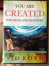 Sid Roth ~ You Are Created For Signs And Wonders ~ DVD NEW!