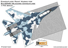 Blizzard Camo Mask set for Sukhoi Su-30MKI 1/72 Trumpeter by DN Models