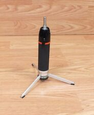 Genuine Focal HandiPod Small Black, Red, & Metal Tripod For Camera Only **READ**