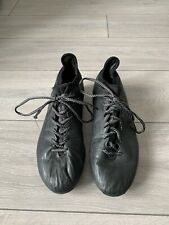 02 Adidas Men's Black Football Boots Size UK 9