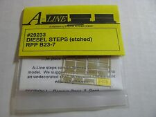 A-Line HO #29233 Diesel Steps (Etched Brass) RPP B23-7 Proto Power West