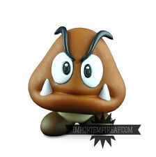 SUPER MARIO BROS. GOOMBA ACTION FIGURE snodabile statuetta torta troopa nintendo