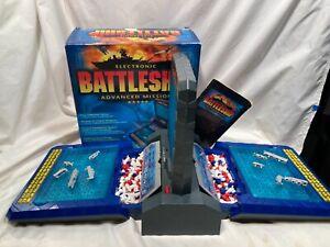 2000 ELECTRONIC TALKING BATTLESHIP ADVANCED MISSION GAME MILTON BRADLEY