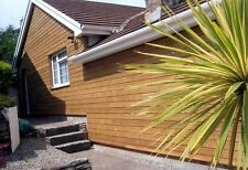 New ThermoWood Cladding - 100lm Pack of ThermoWood Cladding T&G Profile