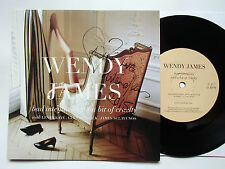 """WENDY JAMES - BAD INTENTIONS & A BIT OF CRUELTY - SIGNED 7"""" - RARE"""