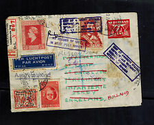 196 Hague Netherlands Cover to England Military Army Returned to Sender