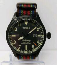 NEW TIMEX ARCHIVE WATERBURY TW2U00700LG Fabric Red Blue Black Watch