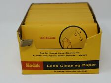 Kodak Camera Lens Cleaning Paper 50 sheets per package lot of 36 vintage