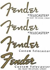 FENDER Headstock Logo  STICKER  Telecaster