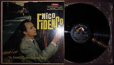 LP NICO FIDENCO El famoso (Rca Victor 65 ARGENTINA) Italian pop unique cv VG