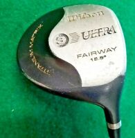 Wilson Ultra Fairway 3 Wood 15.5*   /  RH  /  Factory Regular Graphite / jk8760