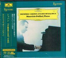 Chopin Etudes Op.10 & Op.25 Maurizio Pollini Japan Esoteric SACD ESSG-90239 NEW