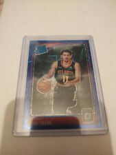 Trae Young 2018-19 Optic Blue Velocity Refractor Rc