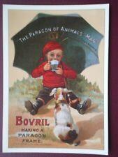 POSTCARD  ADVERT  BOVRIL MAKONG A PARAGON FRAME