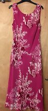 BNWT CC FASHION SIZE 14 PASSION LADIES SLEEVELESS LINED MAXI DRESS (RRP £140) 2G