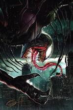 Greg Horn SIGNED Marvel Comics Spiderman Art Print ~ Venom / DISCONTINUED