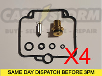 4 X Suzuki GSF1200 Bandit 1200 Carb Repair Kit / Overhaul / Refurb Carburettor