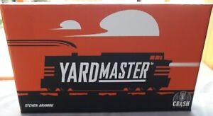 YARDMASTER CARD GAME BY CRASH GAMES STEVEN ARAMINI 100% COMPLETE VGC