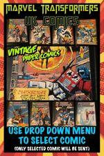 More details for marvel transformers paper comics 80s / 90s vintage uk issues used (select item)