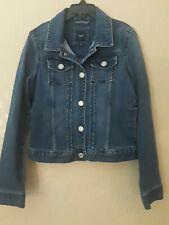 GapKids Girls Denim Jean Jacket Size L 4 Pockets Lg Sleeves