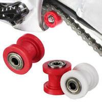 10mm Chain Roller Slider Tensioner Adjuster Pulley Wheel Guide Pit Dirt BikeNWUS