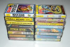 ZX Spectrum 48k + 128k +2 +3 16x Game Tapes. All Tested in very good condition.