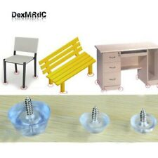 Thickened Table Foot Protector with 16mm Screw Round Bottom Chair Leg/Foot