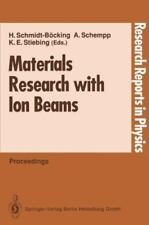 Materials Research with Ion Beams (1992, Paperback)