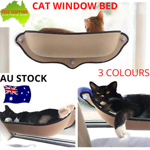 Cat Window Mounted Portable Hammock Bed Soft Resting Perch Heavy Duty Pet Seat