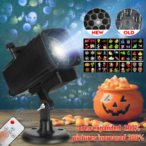 Christmas Moving Projector Lamp Landscape Light Party Outdoor Garden Decorations