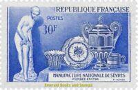EBS France 1957 200 years National Porcelain Manufactory Sèvres YT 1094 MNH**