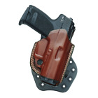 Aker Leather 268A Flatside Paddle Xr19 Strapless Open Top Holster Color: Tan