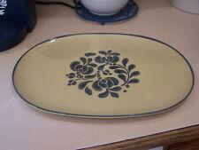 """15"""" Melamine Oval Serving Platter Pfaltzgraff folk art"""