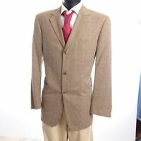 HUGO BOSS Sakko Jacket Angelico Gr.50 beige meliert Einreiher 3-Knopf -S890