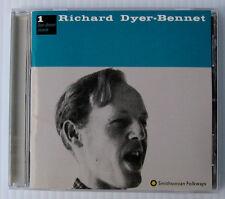 Richard Dyer-Bennet Vol. 1 CD 1955 recording Smithsonian American folk music